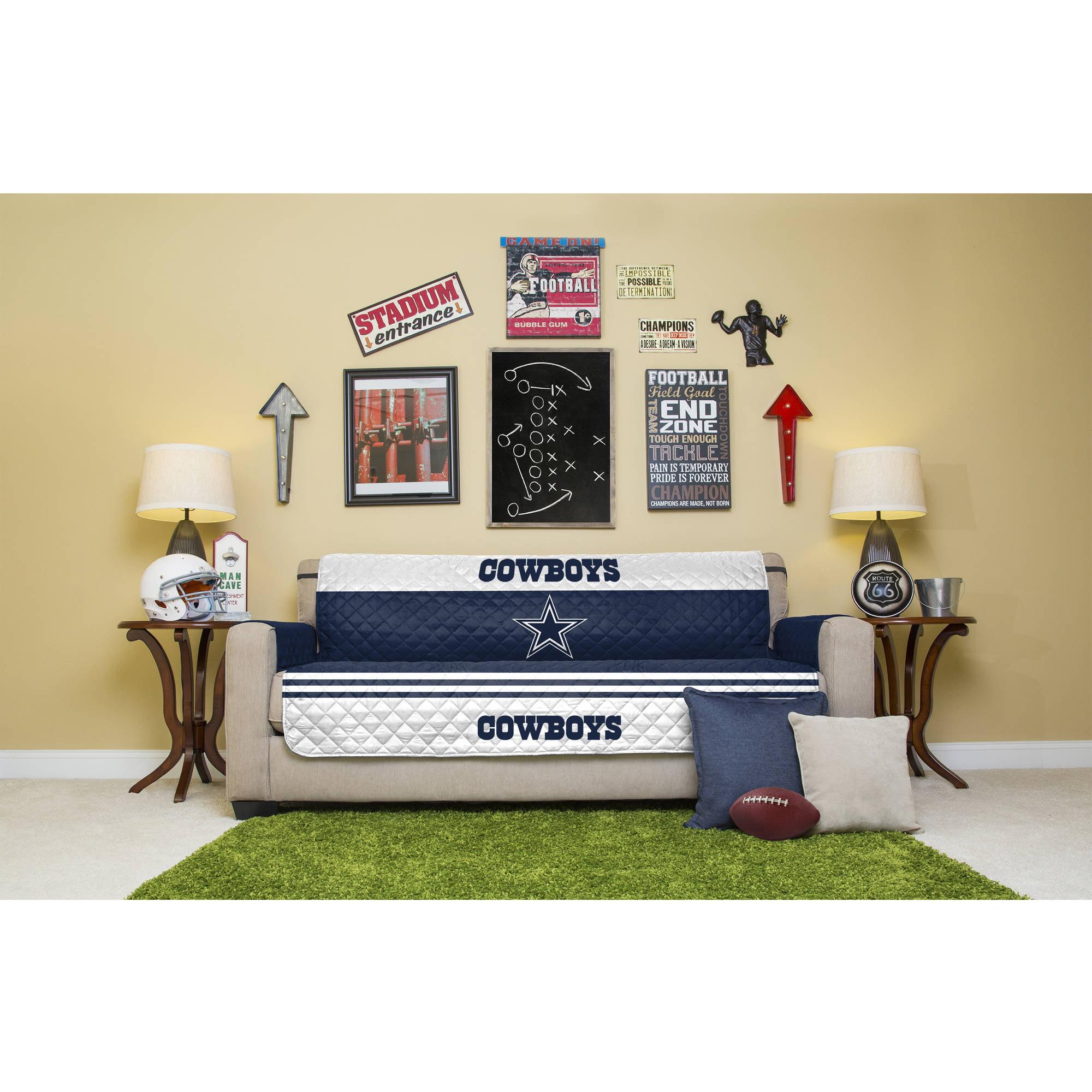 NFL Licensed Furniture Protector, Sofa, Dallas Cowboys by Pegasus Home Fashions Inc