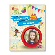 Find Me If You Can Birthday Edition (1 Child) - Personalized Book