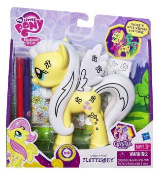 My Little Pony Design-a-Pony Rainbow Fluttershy Pony Figure