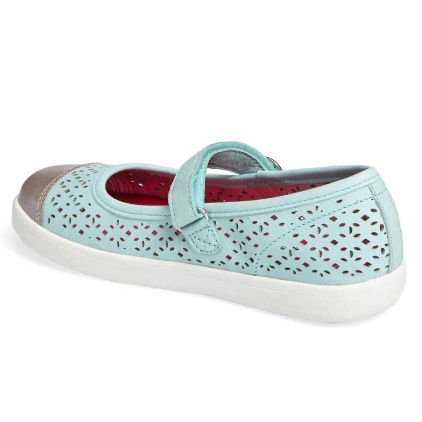 Stride Rite Poppy Mary 11 Jane Shoe (Little Kid), Turquoise, 11 Mary M 804799