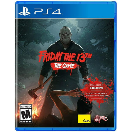 Friday The 13th: The Video Game, Gun Media, PlayStation 4, REFURBISHED/PREOWNED ()