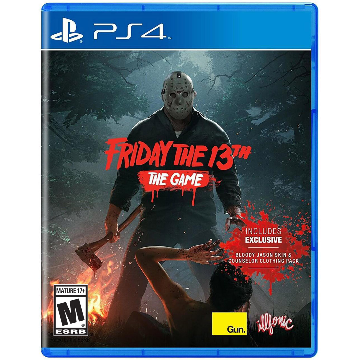 Friday The 13th: The Video Game, Gun Media, PlayStation 4, REFURBISHED/PREOWNED