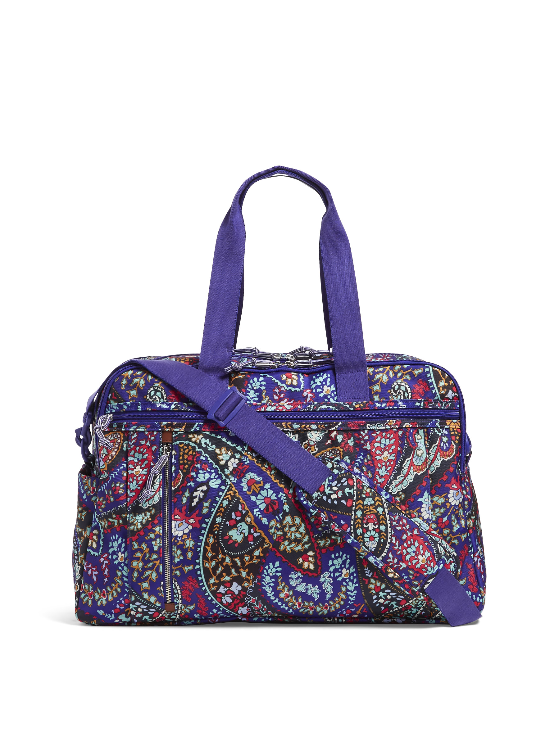 c8cdb1d4a Vera Bradley - Lighten Up Weekender Travel Bag - Walmart.com