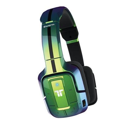 TRITTON Swarm Wireless Mobile Headset with Bluetooth Technology - Flip Green