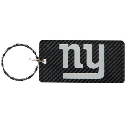 New York Giants Carbon Printed Acrylic Team Color Logo Keychain - No Size