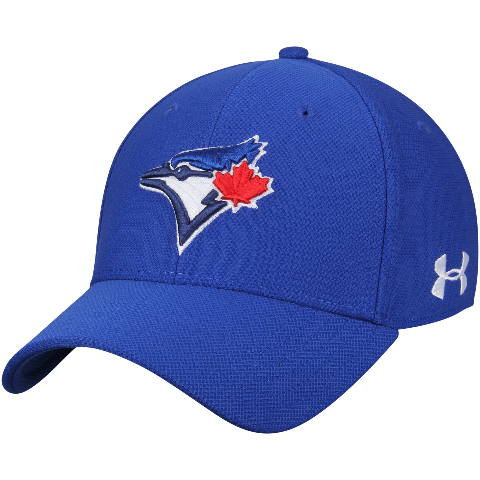 Toronto Blue Jays Under Armour Blitzing Performance Adjustable Hat - Royal - OSFA