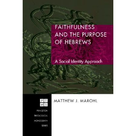 Faithfulness and the Purpose of Hebrews : A Social Identity (Mall In Princeton)