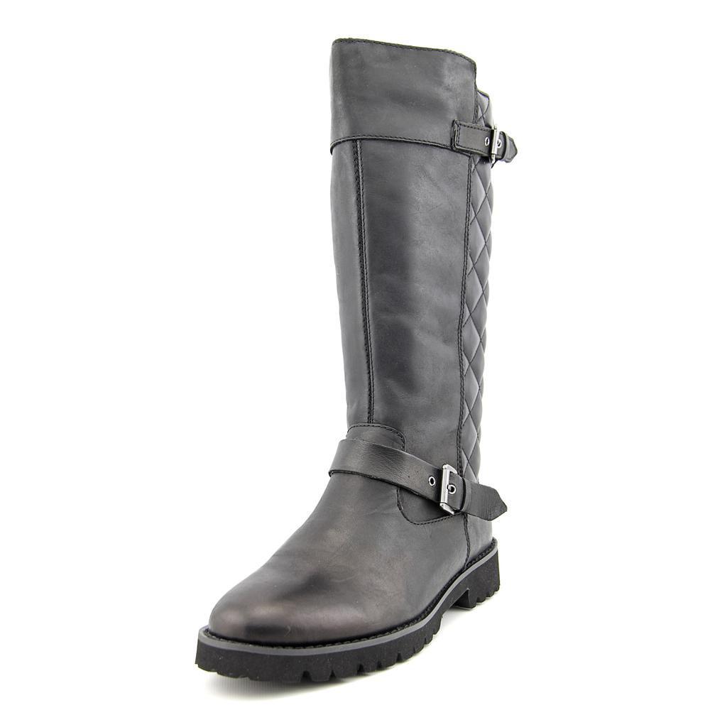 Easy Spirit Bronzato Round Toe Leather Mid Calf Boot by Easy Spirit