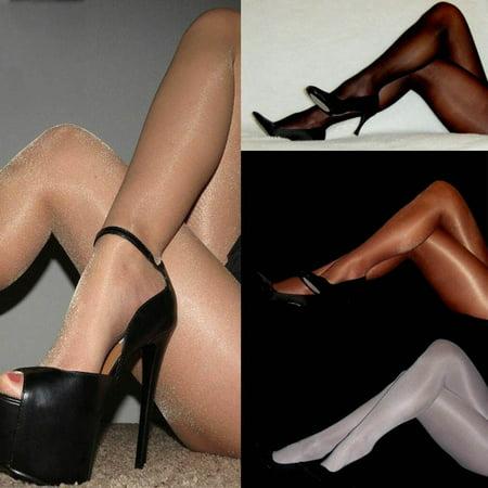 USA Ladies Party Shiny Glitter Glossy Stockings Pantyhose Tights Hosiery Socks