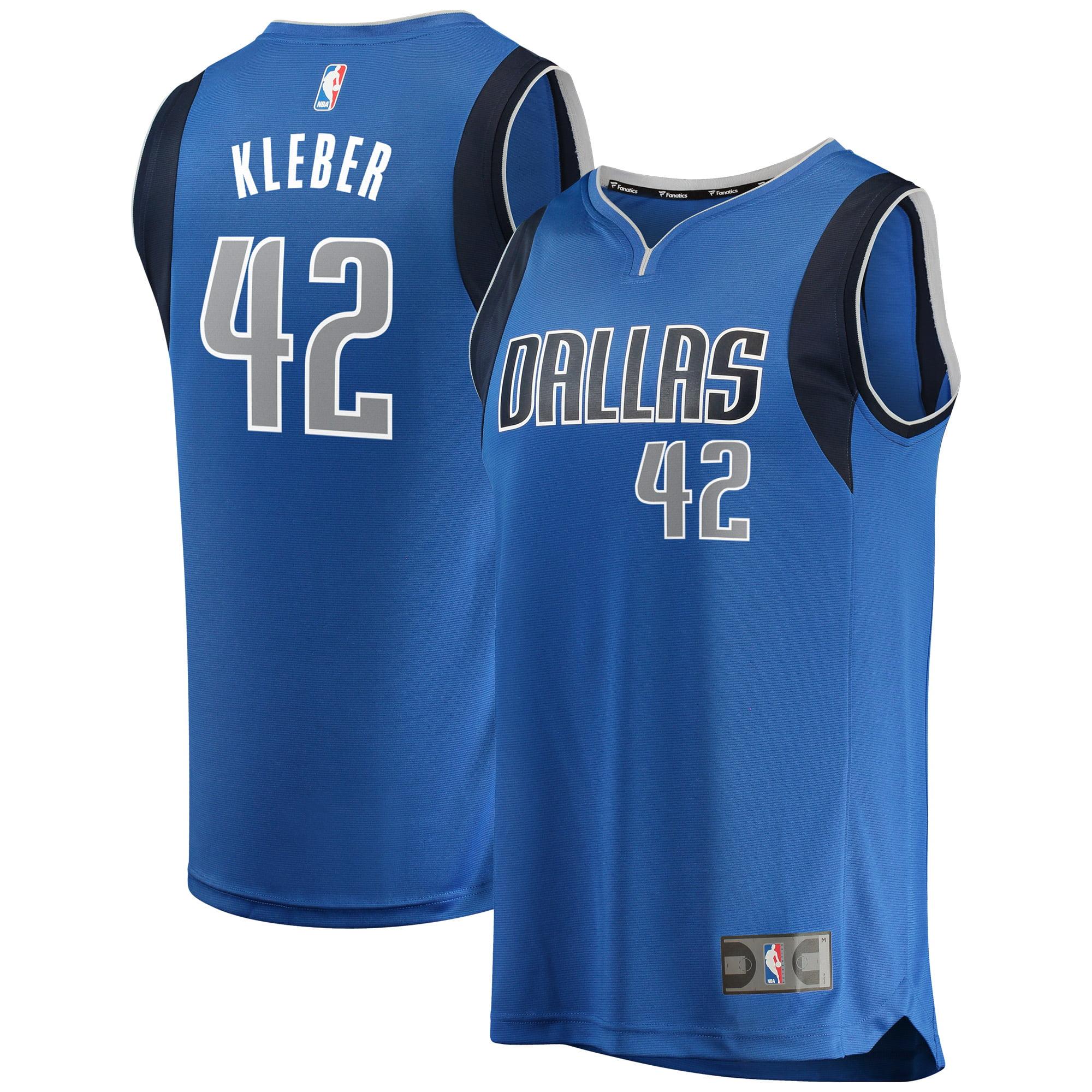 Maxi Kleber Dallas Mavericks Fanatics Branded Fast Break Replica Team Color Player Jersey Royal - Icon Edition