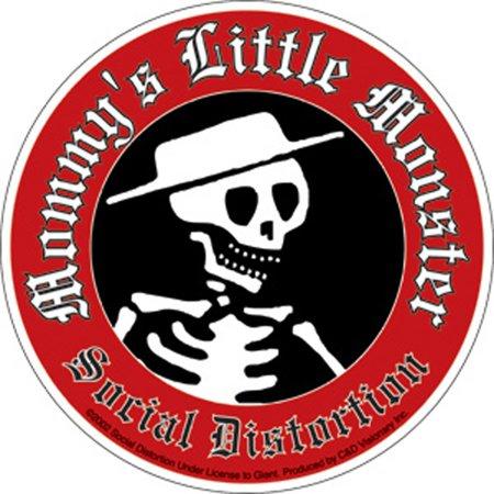 SOCIAL Distortion Little Mon, Officially Licensed Original Artwork, 10.2
