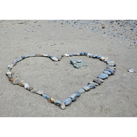 Framed Art For Your Wall Wedding Feelings Love Travel Stone Heart