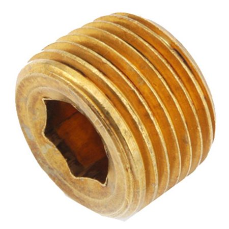756115-06 .38 in. Brass Countersink Plug