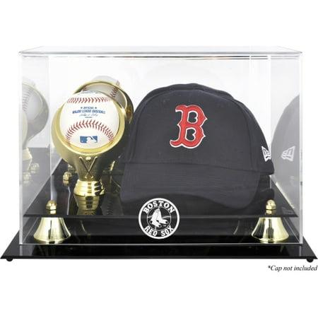 Boston Red Sox Fanatics Authentic Acrylic Cap and Baseball Logo Display Case - No Size Boston Red Sox Case