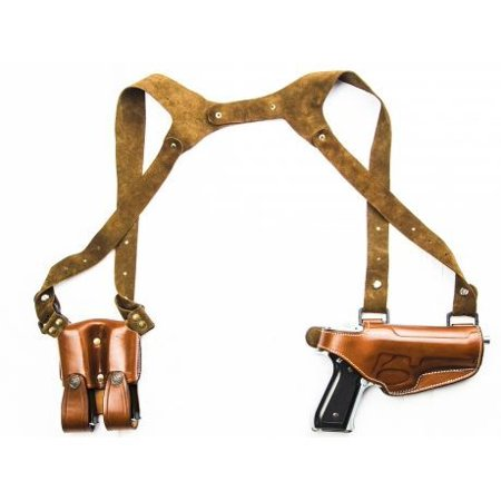 Compaq Arm (Cebeci Arms Leather Horiz. Shoulder Holster SHS for Springfield XD9, XD40 Compac)