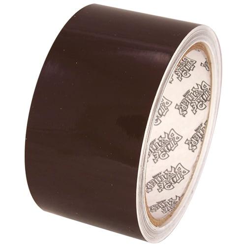 "Tape Planet 3 mil 2"" x 10 yard Roll Brown Outdoor Vinyl Tape"