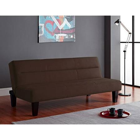 Kebo Twin Size Futon Sofa Bed Brown Black