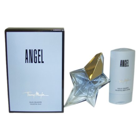 Angel By Thierry Mugler Gift Set - Angel by Thierry Mugler for Women - 2 Pc Gift Set 1.7oz EDP Spray, 3.5oz Celestial Body Lotion