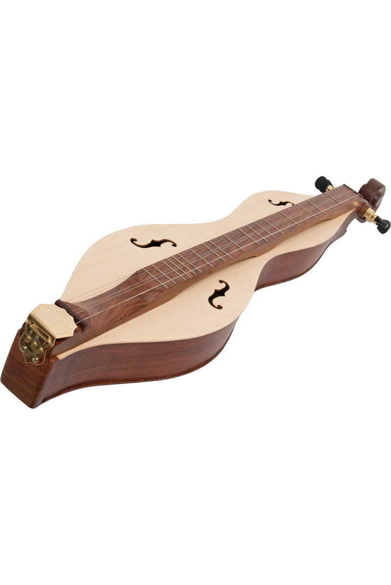 Roosebeck Mountain Dulcimer 5-String Cutaway Upper Bout F-Holes Scrolled Pegbox by Roosebeck