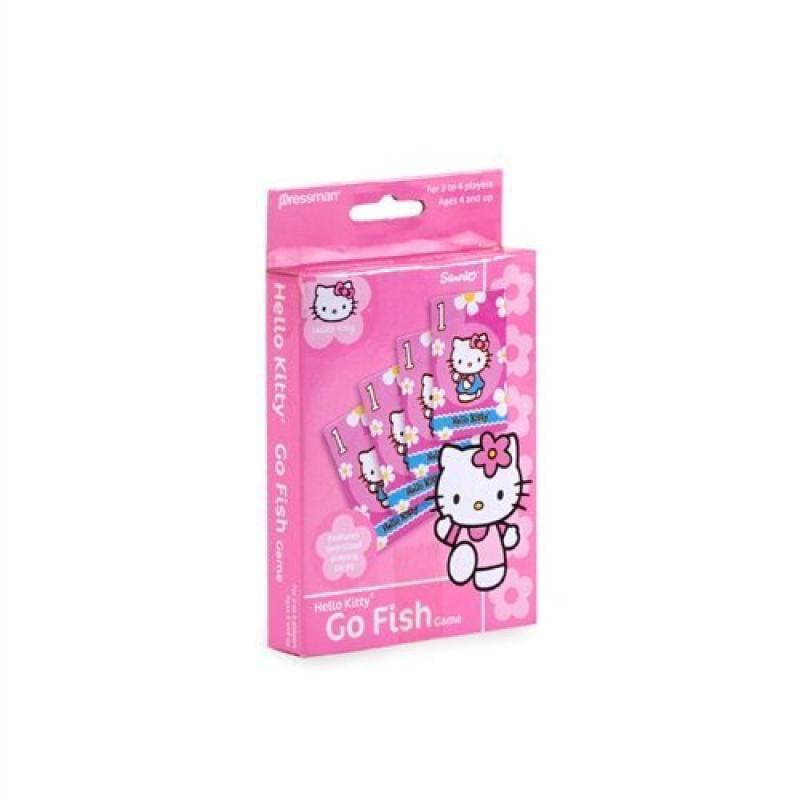 Pressman Toys Hello Kitty Go Fish Card Game by Sanrio by