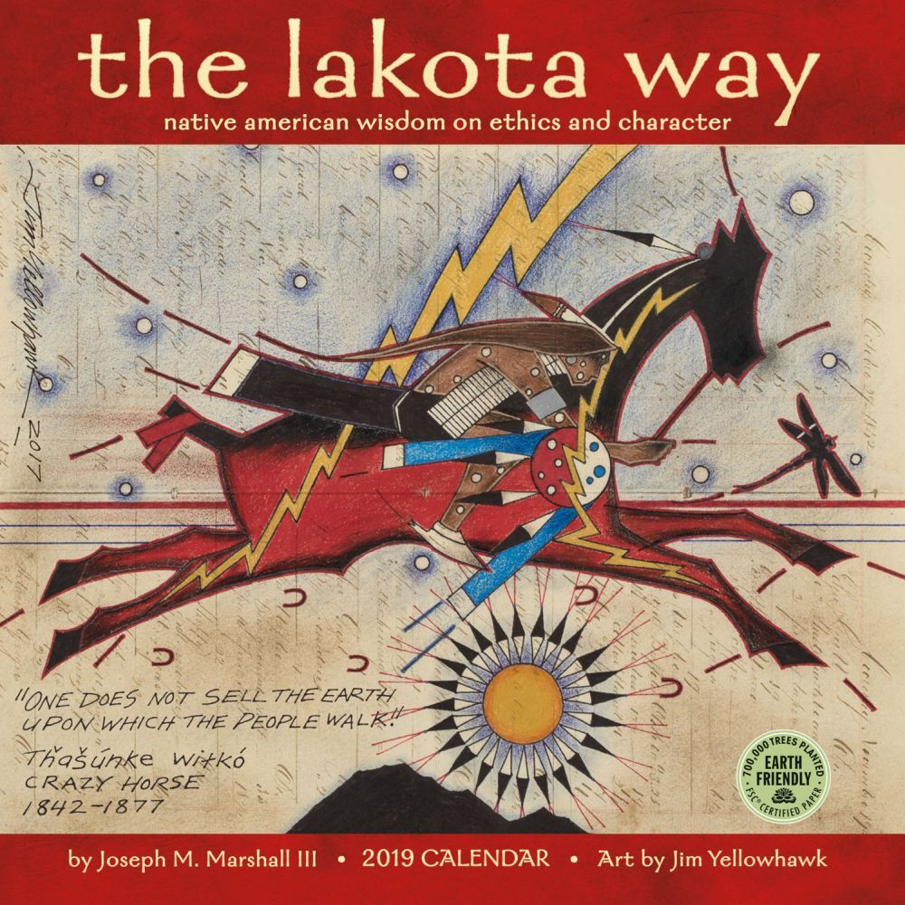 Lakota Way Wall Calendar, Ethnic Art by Calendars