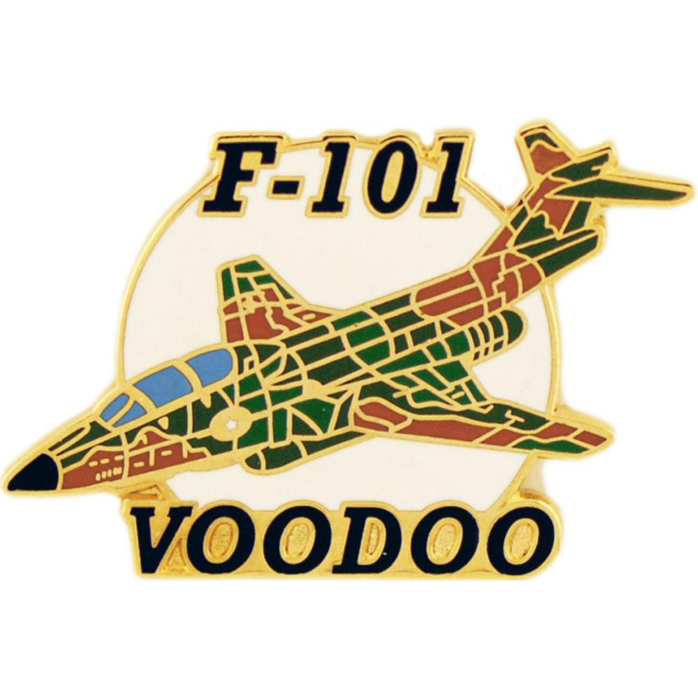 F-101 Voodoo Airplane Pin 1 1/2
