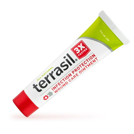 Wound Care by Terrasil® with All-Natural Activated Minerals® for Fast Healing of Wounds, Burns, Sores, Ulcers and More 3X Faster (14gm tube (Best Otc For Ulcer)