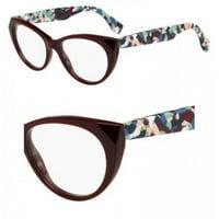 9168a329deb0 Product Image FENDI Eyeglasses FF 0205 09KF Burgundy Multi