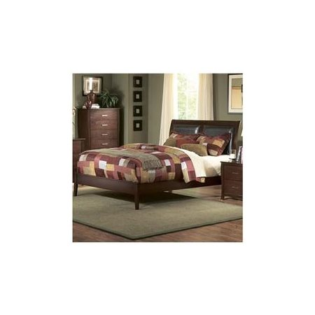 Woodhaven Hill Rivera Upholstered Sleigh Bed
