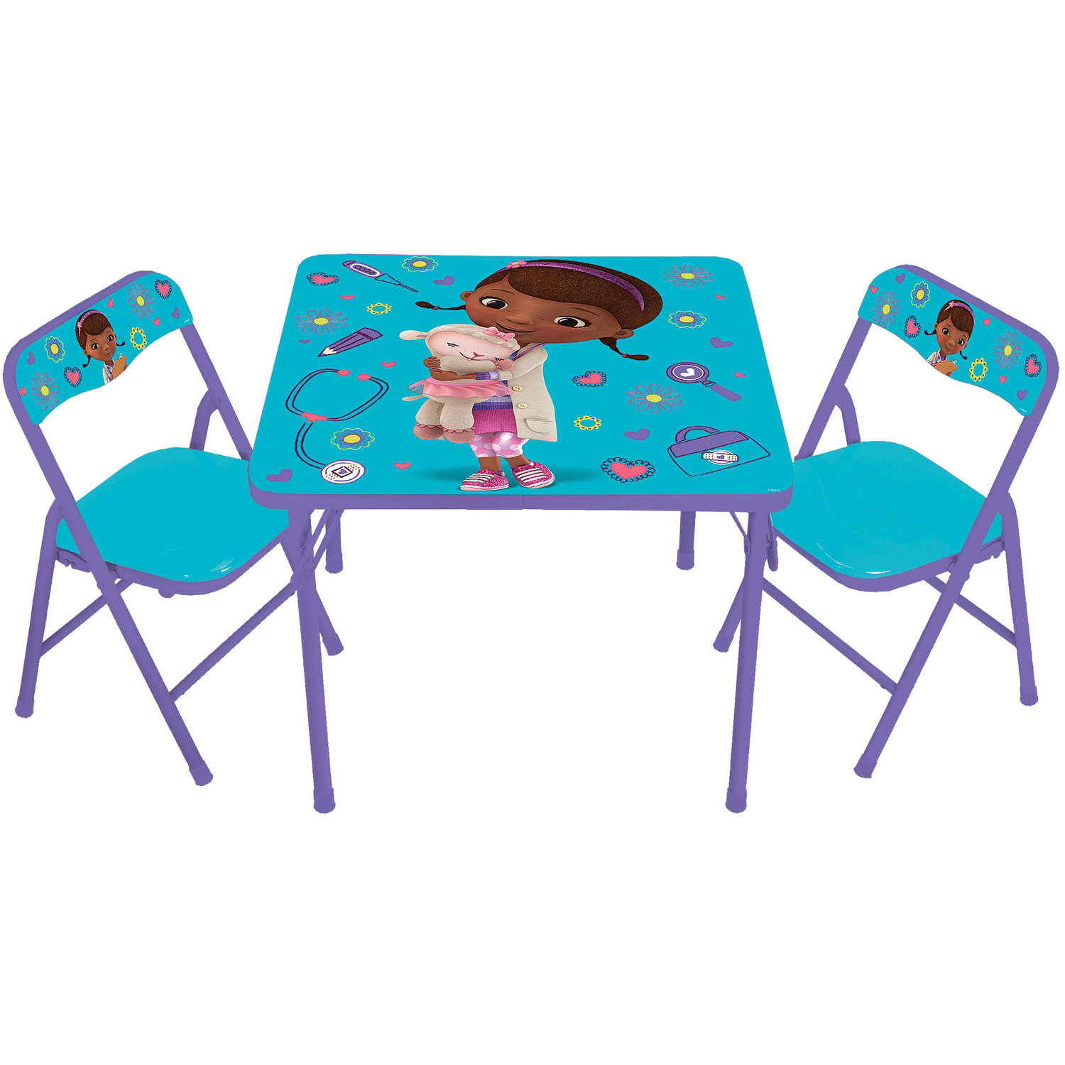 doc mcstuffins table and chair set
