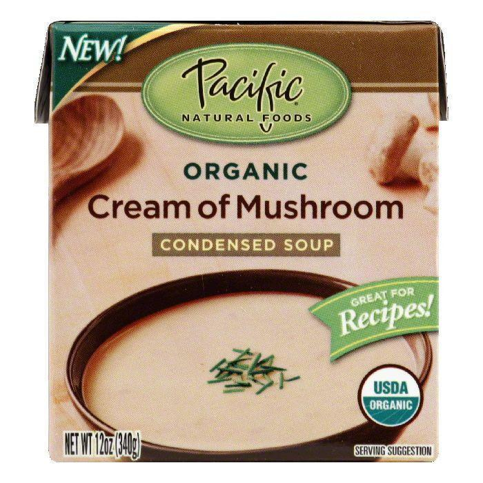 Pacific natural foods cream of mushroom soup, 12 oz (pack of 12)