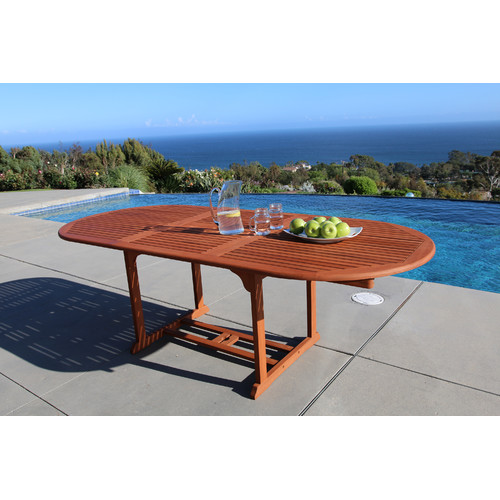 Vifah Vista Extension Butterfly Dining Table