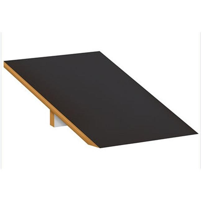 Salsbury Industries 22251BLK Sloping Hood - for Extra Wide Designer Wood Locker - 1 Wide - Black