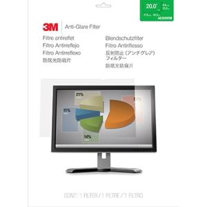 "3M AG200W9B Anti-Glare Filter for 20"" Widescreen Monitor"