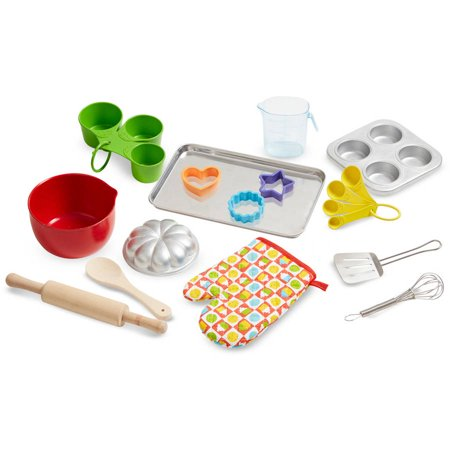 Melissa & Doug Baking Play Set (20 Pcs) - Play Kitchen Accessories - image 2 of 3