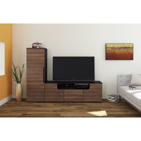 Next Entertainment Kit with 60-inch TV Stand & 1 1-Door Storage Unit