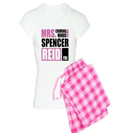 c5b787035bed5 CafePress - CafePress - Mrs. Spencer Reid - Women's Light Pajamas -  Walmart.com
