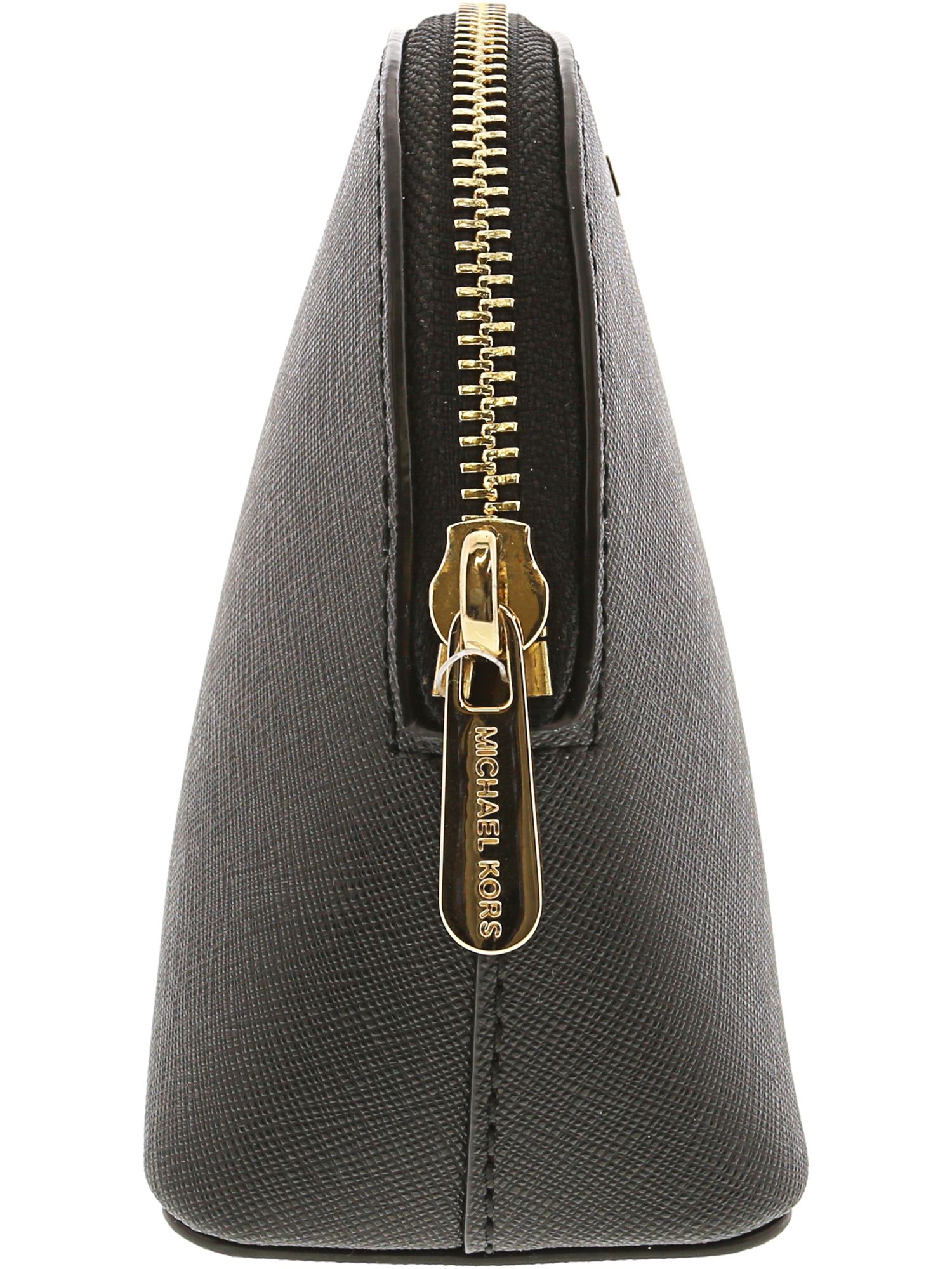 4c373e461c1b Michael Kors Women s Jet Set Travel Large Leather Pouch Cosmetic Bag -  Merlot - Walmart.com