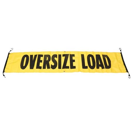 Wide Load Sign >> 84 X 18 Oversize Wide Load Vinyl Sign Banner W Bungee Cords