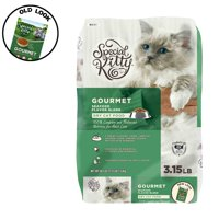 Special Kitty Gourmet Formula Dry Cat Food, Seafood Flavor Blend, 3.15 lb