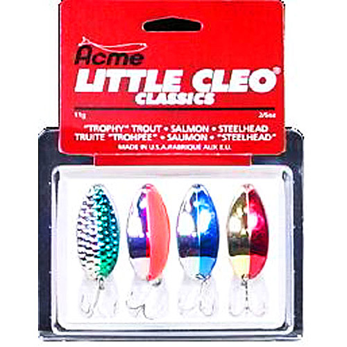 Acme 4-Piece Little Cleo Classic Lure Kit