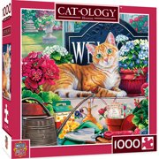 MasterPieces - Cat-ology Blossom 1000 Piece Square Jigsaw Puzzle by Jenny Newland