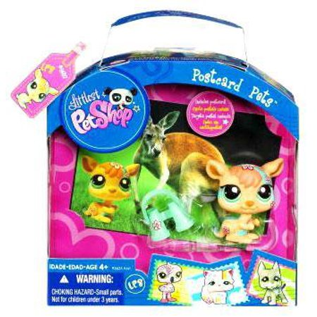 Littlest Pet Shop Postcard Pets Series 5 Kangaroo (Kangaroo Series)