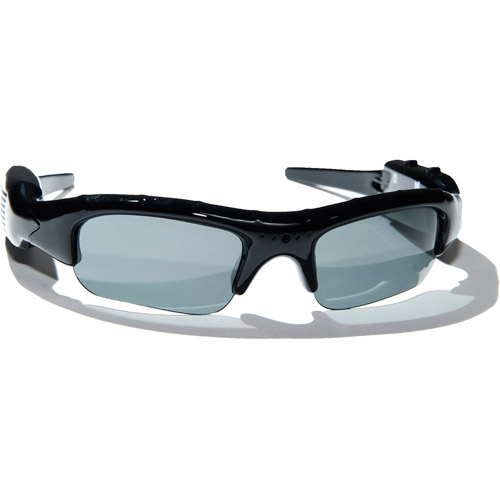 POV ACTION VIDEO ACG-20 Polarized Sunglasses with Built-in Video Action Camera