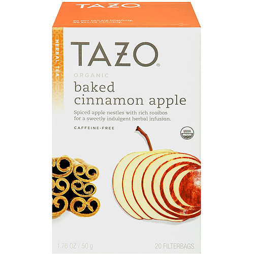 Tazo Baked Cinnamon Apple Herbal Tea, 20 count