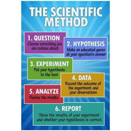 Scientific Method Poster (The Scientific Method Classroom Chart Poster - 13x19 )