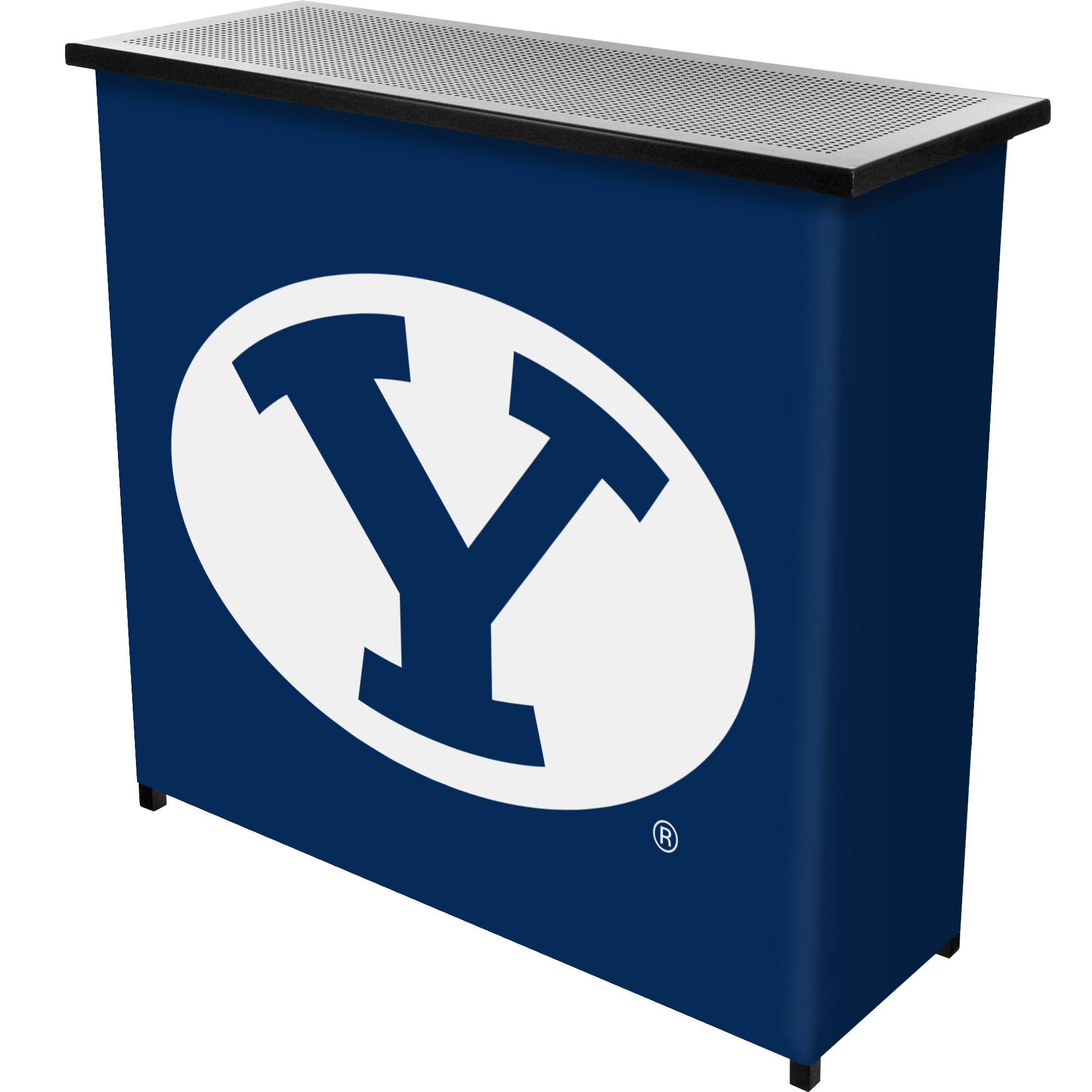 Image of Brigham Young University BYU 2-Shelf Portable Bar with Carrying Case