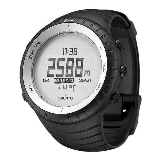 Suunto - Core Glacier Multifunction Mens Watch SS016636000 ...