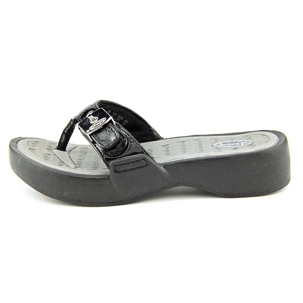 347bd80d4d1 Dr. Scholl s Shoes - Dr. Scholl s Roll Open Toe Synthetic Thong Sandal -  Walmart.com