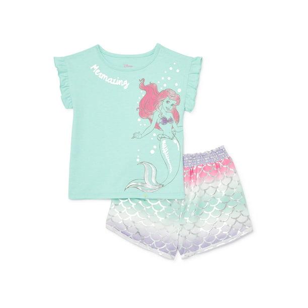 Little Mermaid Baby Toddler Girl Short, The Little Mermaid Toddler Bedding